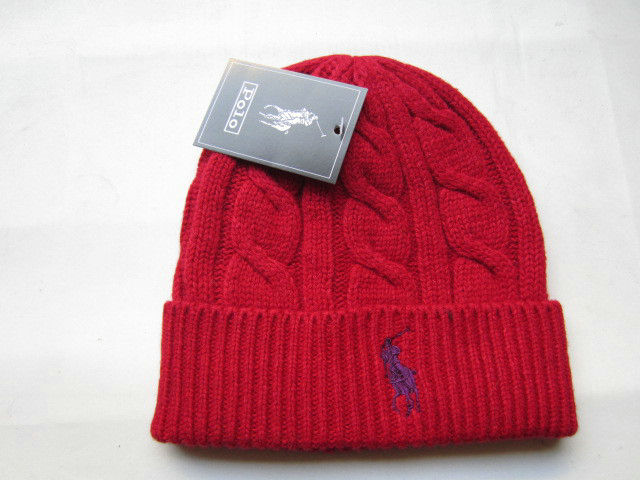 Polo Red Beanie 5 LX