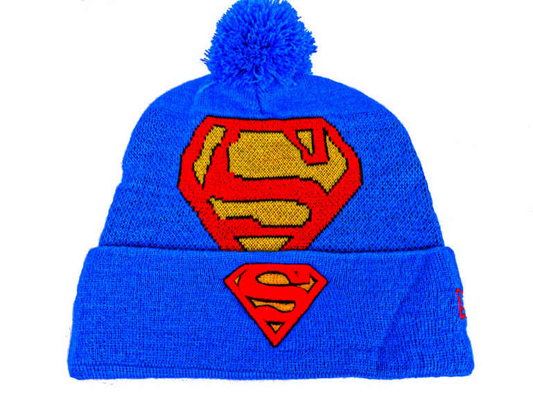 Superman Blue Beanie DF