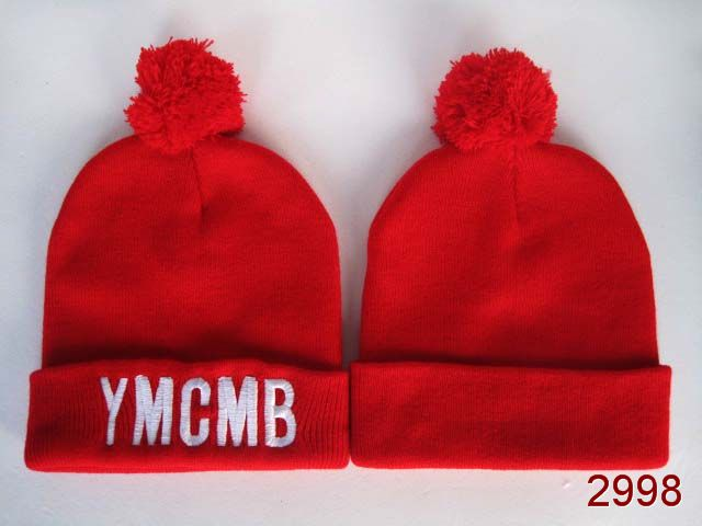 YMCMB Beanie Red SG
