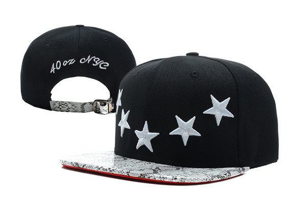40 OZ NYC Snapbacks Hat XDF 07