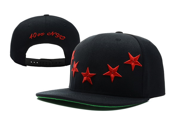 40 OZ NYC Snapbacks Hat XDF 08