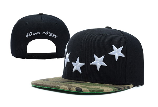 40 OZ NYC Snapbacks Hat XDF 09