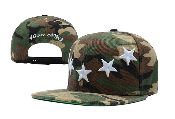 40 OZ NYC Snapbacks Hat XDF 10