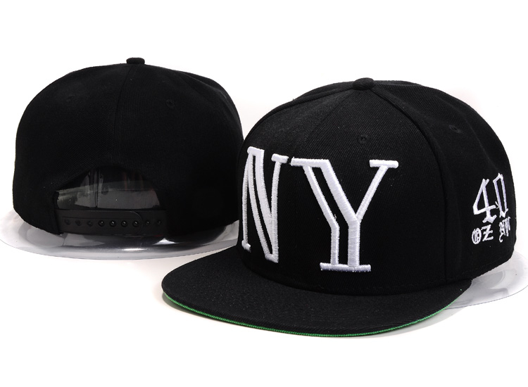 40 OZ NYC Snapbacks Hat YS3
