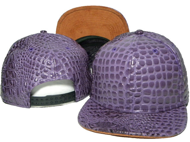 Purple Snapback Hat DD