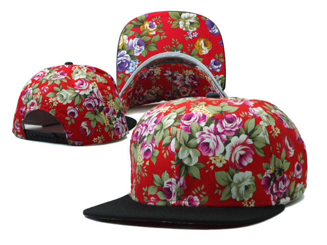 Floral Blank Snapbacks Hat SF1