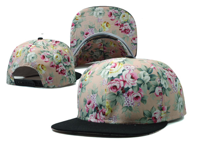 Floral Blank Snapbacks Hat SF2
