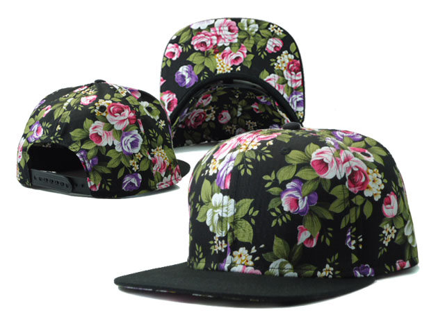 Floral Blank Snapbacks Hat SF3