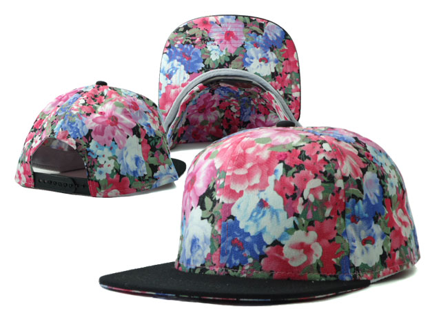 Floral Blank Snapbacks Hat SF6