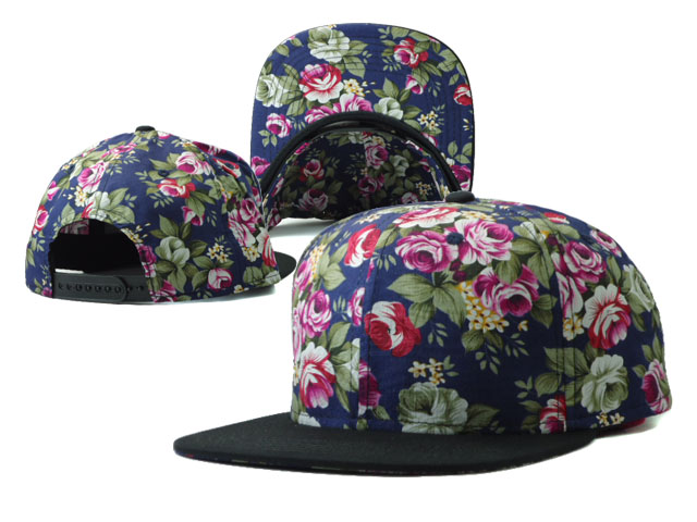 Floral Blank Snapbacks Hat SF7
