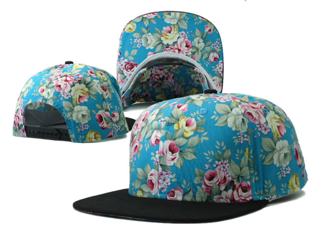 Floral Blank Snapbacks Hat SF8