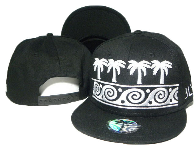 BLVD Black Snapbacks Hat DD 5 0613