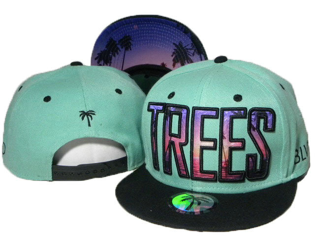 BLVD Green Snapbacks Hat DD 1 0613