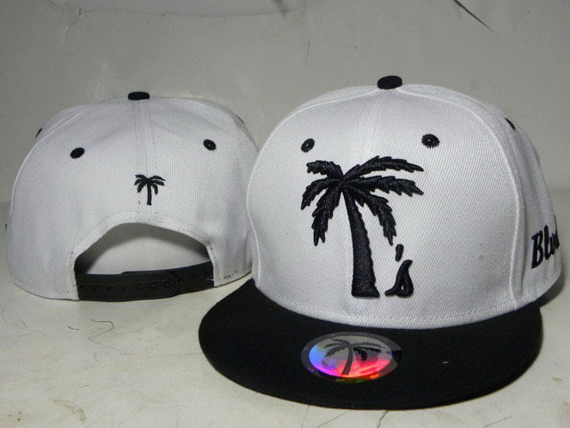 BLVD White Snapbacks Hat DD 0613