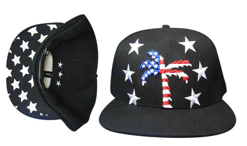 BLVD Black Snapbacks Hat GF 1