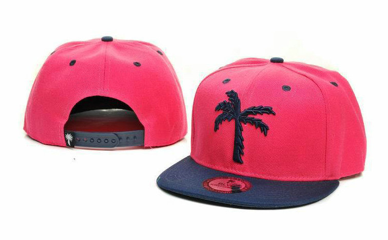 BLVD Pink Snapbacks Hat GF