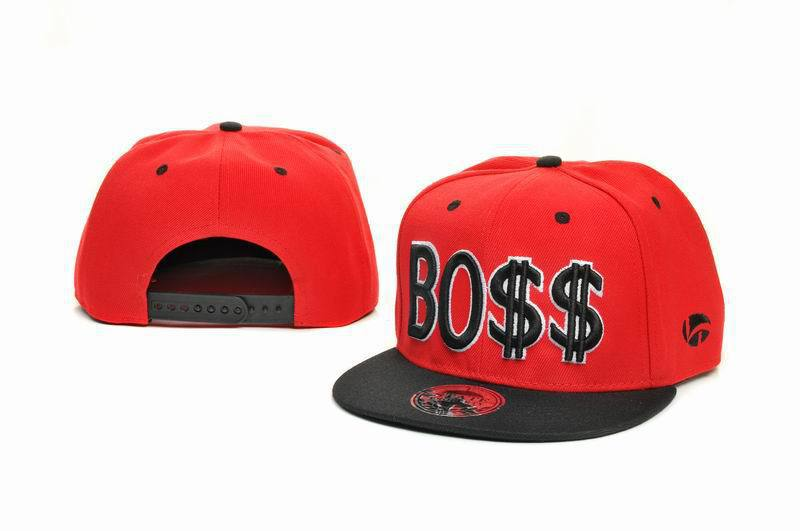 BOSS Red Snapbacks Hat GF