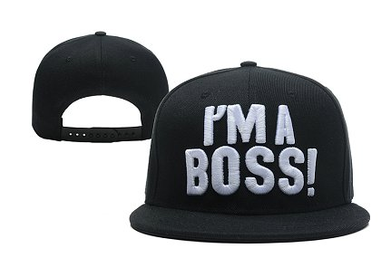 I am a Boss Snapback Hat XDF
