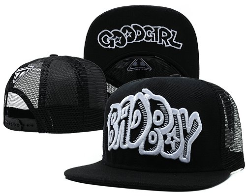 Bad Boy Good Girl Snapback Red Hat SD1