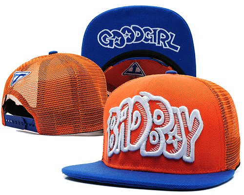 Bad Boy Good Girl Snapback Red Hat SD2
