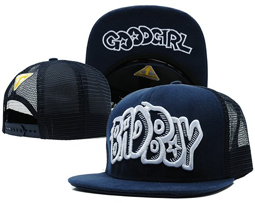 Bad Boy Good Girl Snapback Red Hat SD3