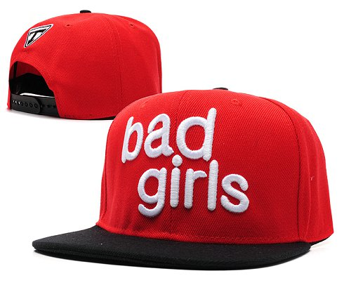 Bad Boy Good Girl Snapback Red Hat SD4