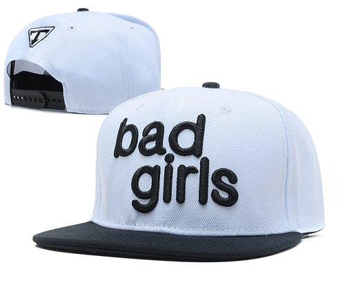 Bad Boy Good Girl Snapback Red Hat SD5