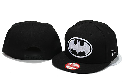 Batman Black Snapbacks Hat YS
