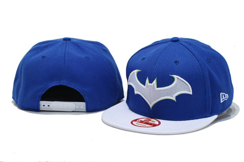 Batman Blue Snapback Hat YS