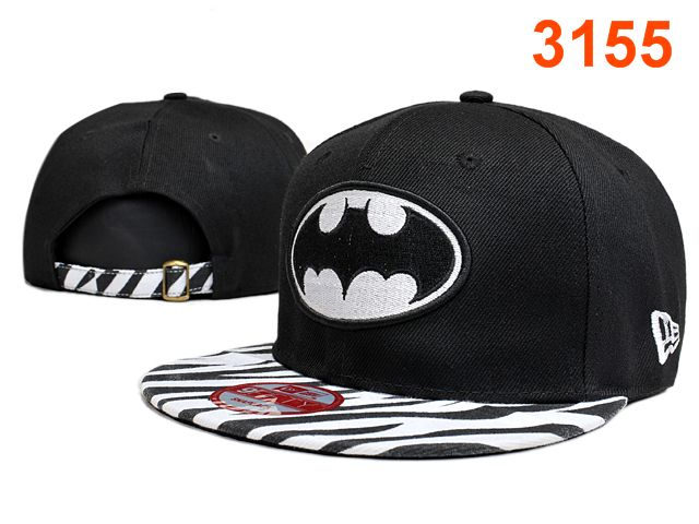 Batman Black Snapback Hat PT 0528