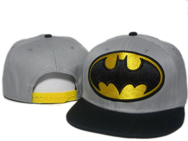 Batman Grey Snapback Hat DD 0512