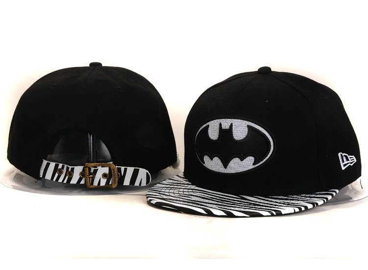 Batman Black Snapback Hat YS 1