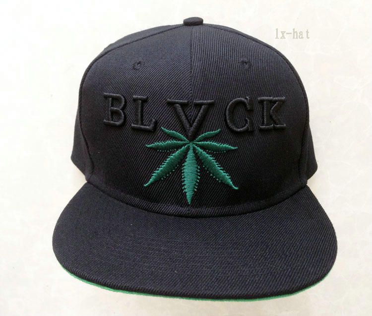 Black Scale Blvck Snapback Hat GF
