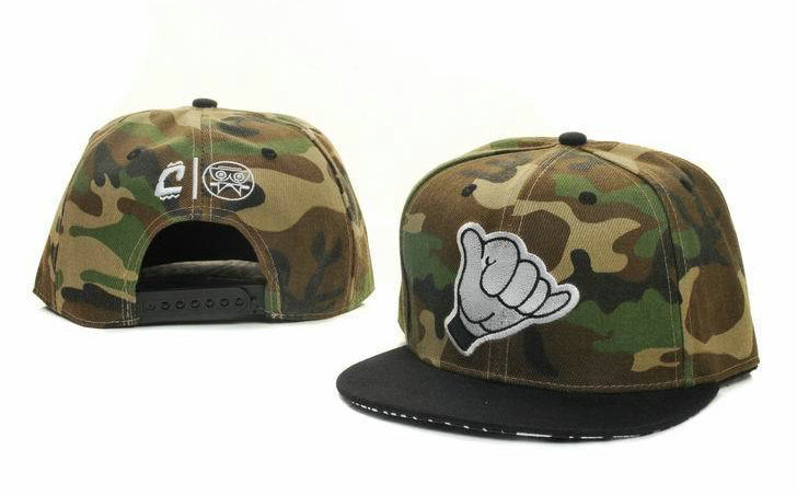 Booger Kids Camo Snapbacks Hat GF