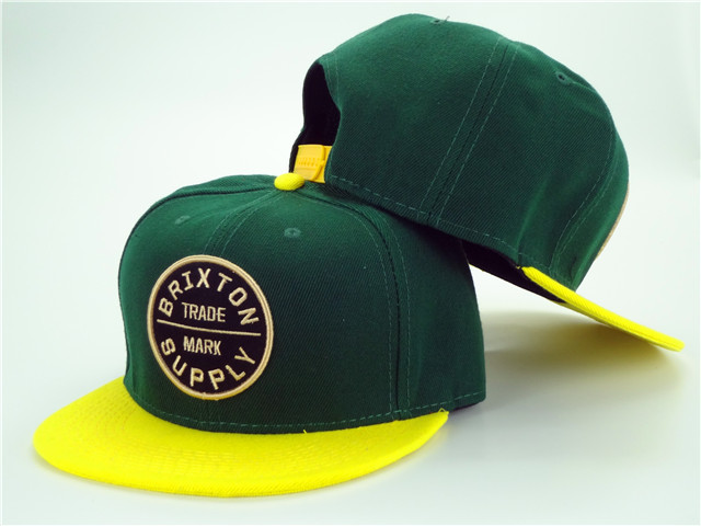 Brixton Green Snapbacks Hat ZY