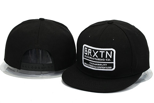 Brixton Black Snapbacks Hat YS 0606