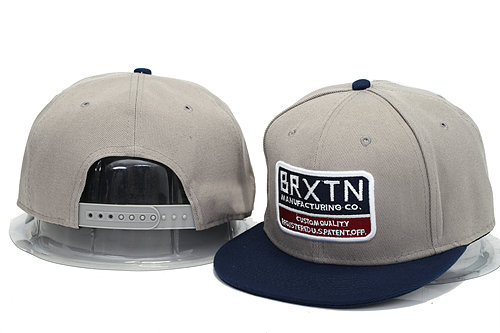 Brixton Grey Snapbacks Hat YS 1 0606