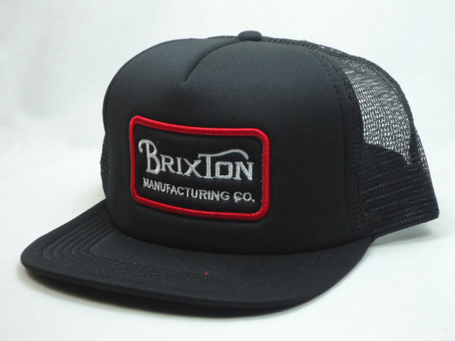 Brixton Black Mesh Snapbacks Hat SF