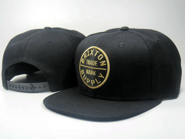 Brixton Black Snapbacks Hat LS