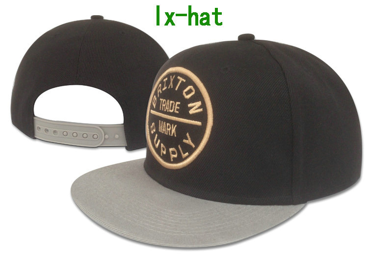 Brixton Black Snapbacks Hat GF