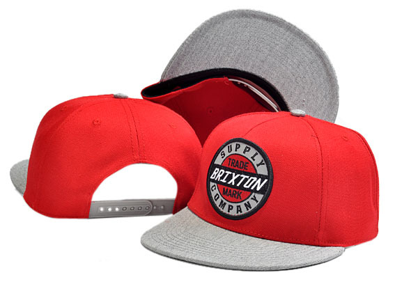 Brixton Red Snapbacks Hat GF