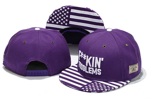 CAYLER & SONS Purple Snapbacks Hat YS