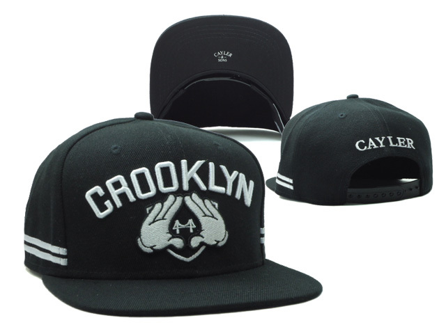 CAYLER & SONS Black Snapbacks Hat SF 1 0528