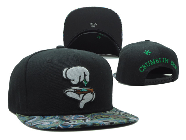 CAYLER & SONS Black Snapbacks Hat SF 2 0528