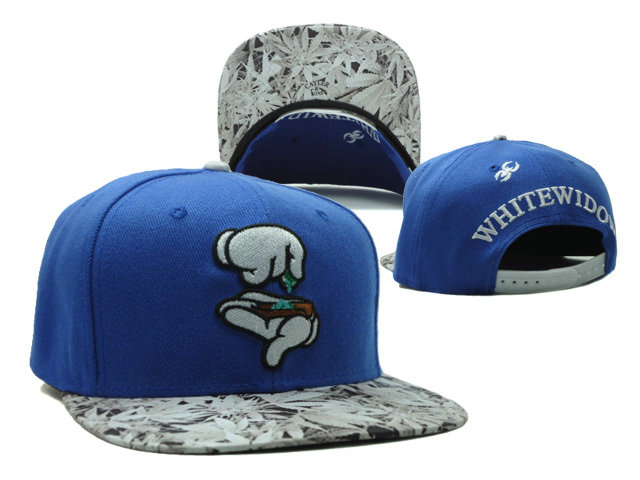 CAYLER & SONS Blue Snapbacks Hat SF 0528