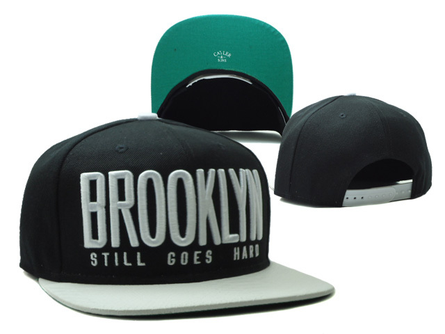 CAYLER & SONS Brooklyn Black Snapbacks Hat SF 0528