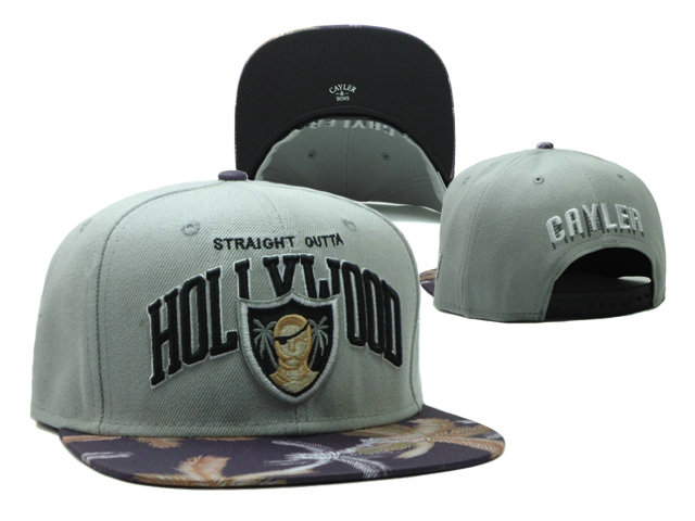 CAYLER & SONS Grey Snapbacks Hat SF 0528
