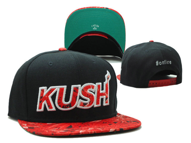 CAYLER & SONS KUSH Black Snapbacks Hat SF 0528