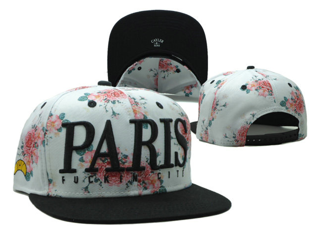 CAYLER & SONS Paris Snapbacks Hat SF 0528