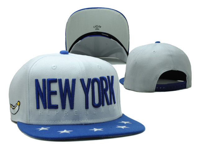 CAYLER & SONS White Snapbacks Hat SF 2 0528